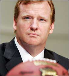 Roger Goodell Is Judge, Jury And Executioner