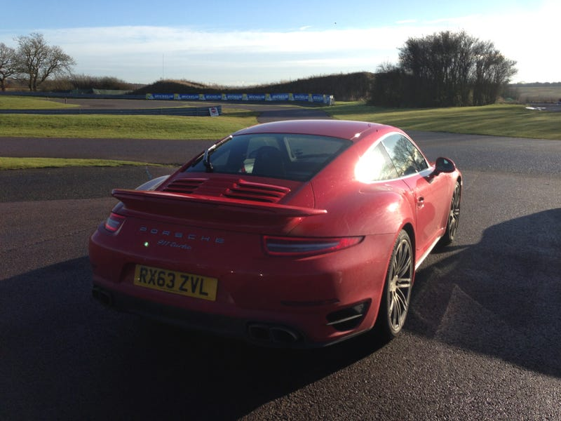 Drove a new 911 Turbo today