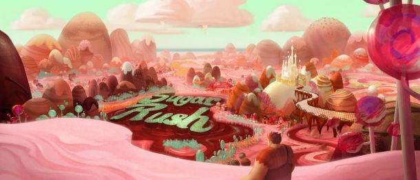 Wreck-It-Ralph Concept Art