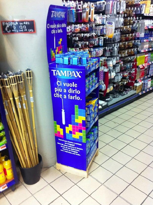 Tetris Tampons