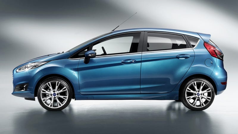 2014 Ford Fiesta: First Photos