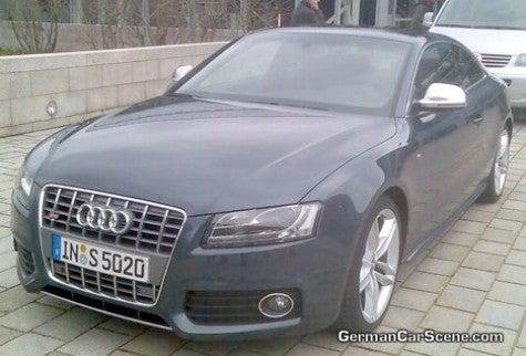 Spy Photos: Audi S5, IRL