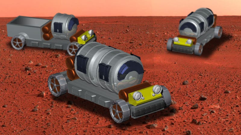How To Build A Car On Mars