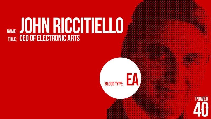 ↑ 08. John Riccitiello, CEO of EA