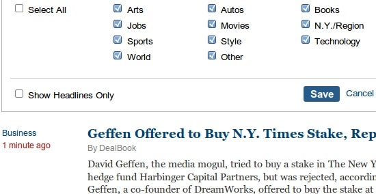 Times Reader Makes the NYT a Better Desktop Read