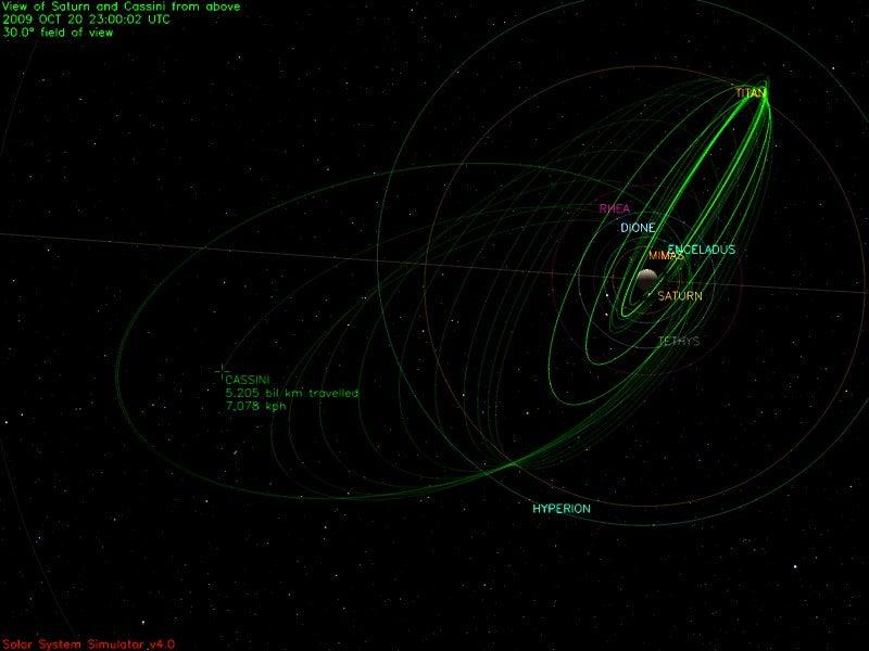 Spectacular Video of Saturn Moons Disturbing Its Rings