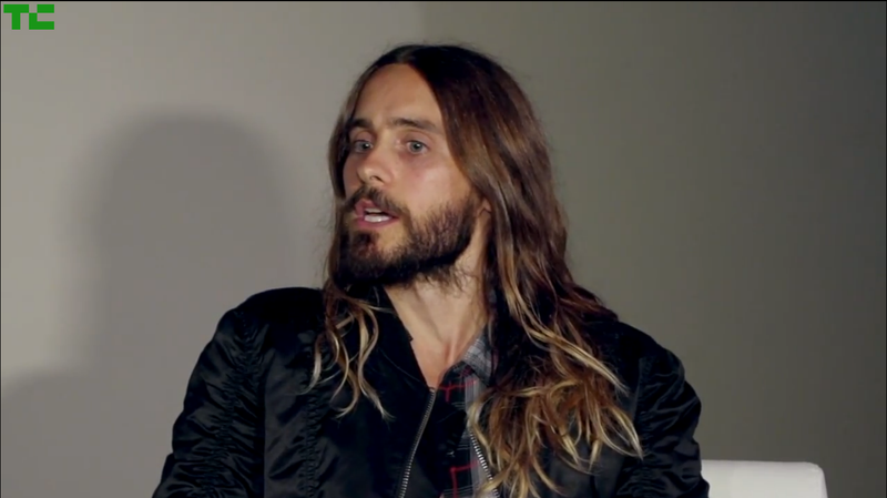 Jared Leto Charms Tech's Sycophant Army
