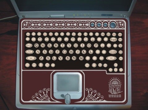Mod your Laptop into a Portable Typewriter and Adding Machine
