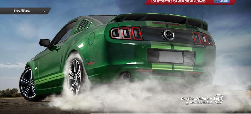 Mustang Customizer