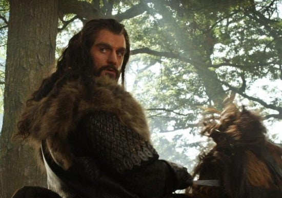 Do these Hobbit images reveal the very last scene in the first movie?