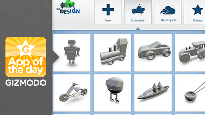 123D Design: Create Incredible 3D Printed Designs on Your iPad
