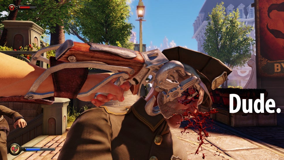 Bioshock Infinite Is Insanely Ridiculously Violent It S