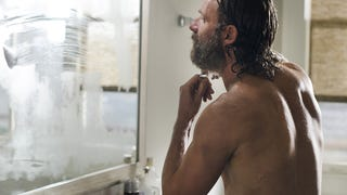 Rick's Beard Dies So Others May Live On <i>The Walking Dead</i>