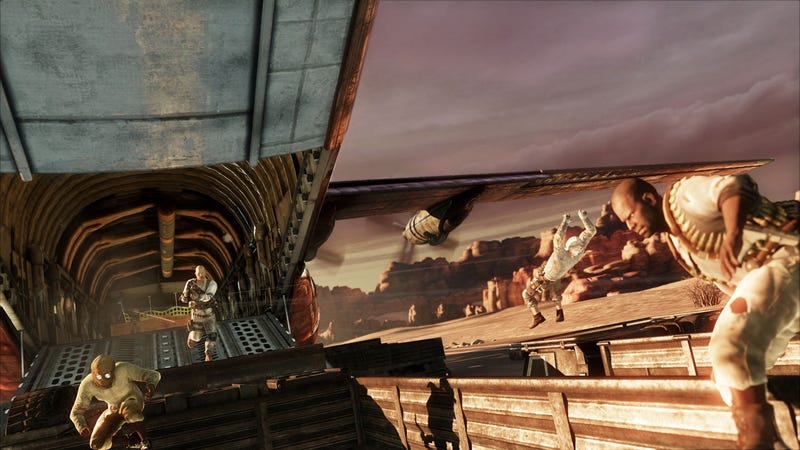 Hands On With Uncharted 3's Three Team Deathmatch and Free For All Killfests