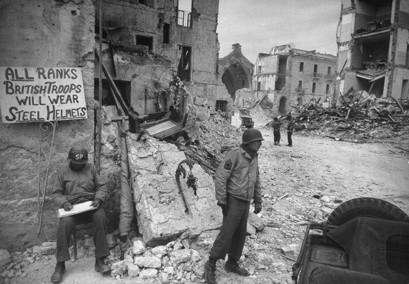 LIFE unveils unpublished photos of Allied troops fighting in Italy