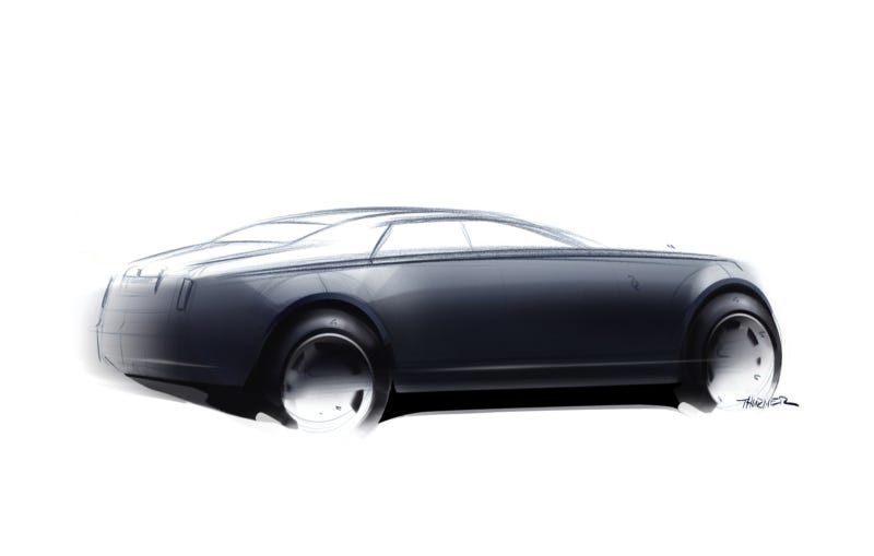 Rolls Royce 200EX Concept Pops Spirit Of Ecstasy Out