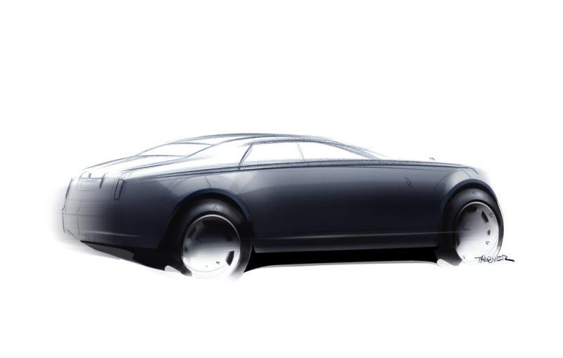 Rolls Royce 200EX Concept Pops Spirit Of Ecstasy Out