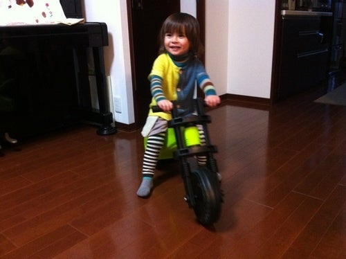 A Bike Built For A Two Year Old, But Strong Enough For A 32 Year Old