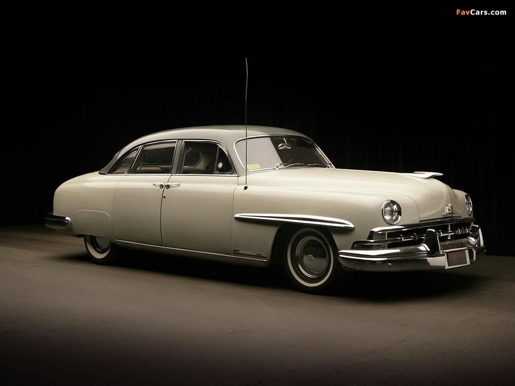 1950 Lincoln Cosmopolitan Sport Sedan