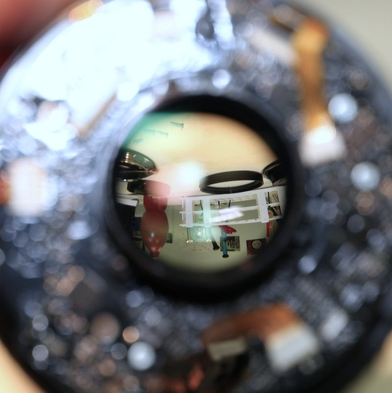 $5500 Worth Of Delicate Camera Lenses Dismantled