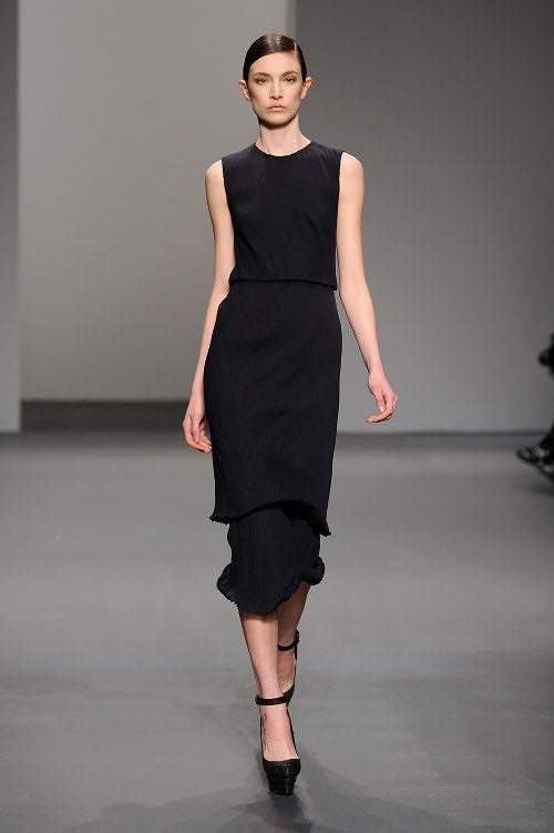 CK Won: NY Fashion Week Ends On Sleek Note