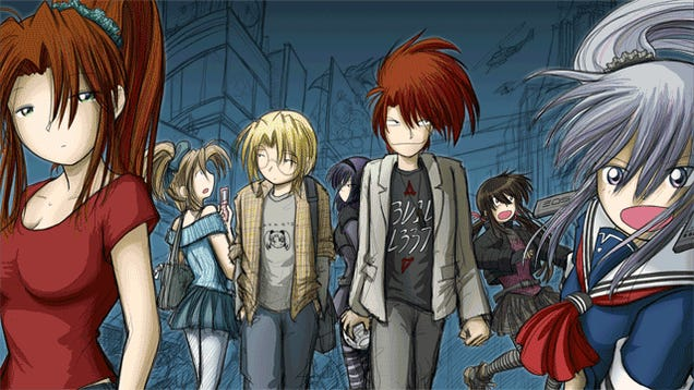Popular Webcomic Megatokyo Is Getting Its Own Game
