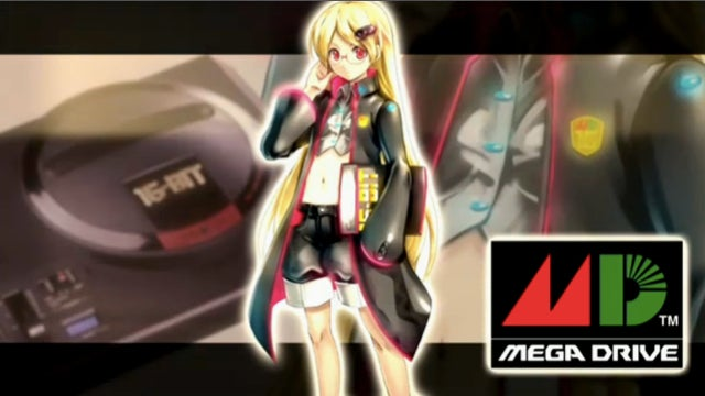 Legendary Sega Consoles Turned into Colorful Anime Ladies