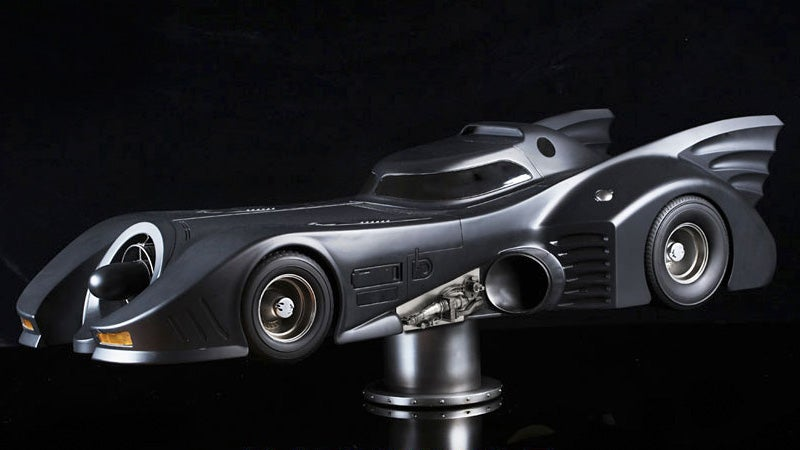 A Three-Foot Model Of Tim Burton's Batmobile Is a Great Way To Blow $630