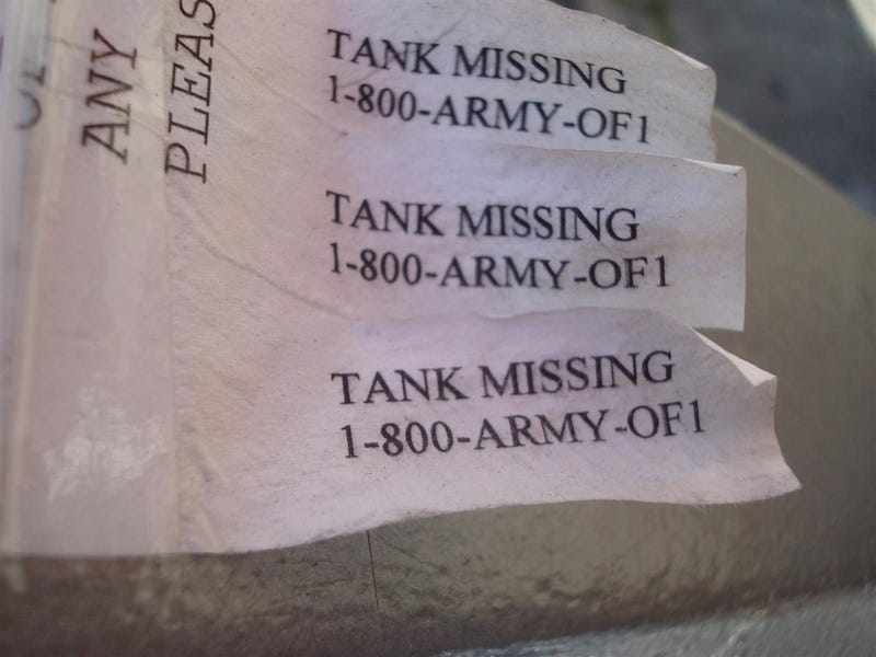 Brooklyn Lost Tank Flier Actually Sex Line Scam