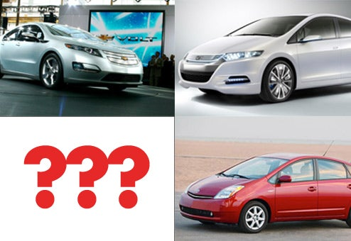 Chevy Volt, Honda Insight Or Toyota Prius?