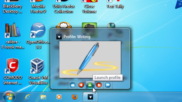 Windows 7 App Launcher Opens Multiple Applications with a Single Click or Hotkey