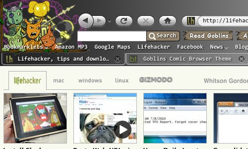 Personas Interactive Is an Improved Version of Firefox's Theme Switcher