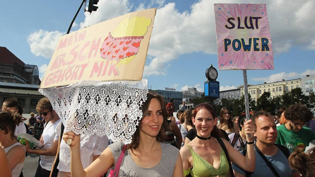 A Glimpse At SlutWalks Across The Globe