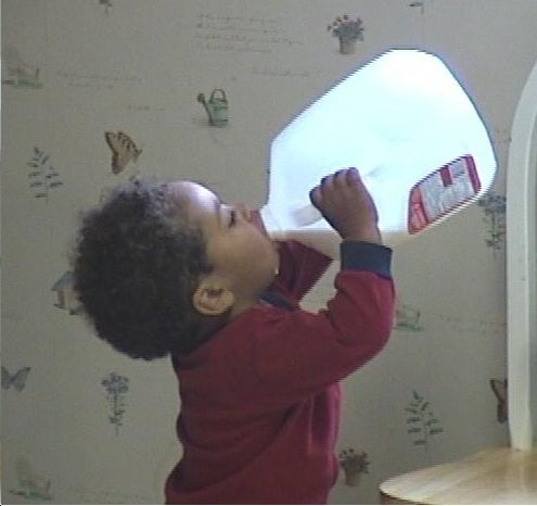 Drink Enough Milk or Die