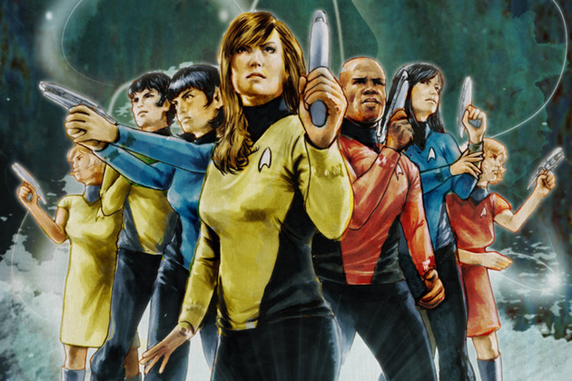 New ​Star Trek Comic Voyages Into Gender-Bending Frontier