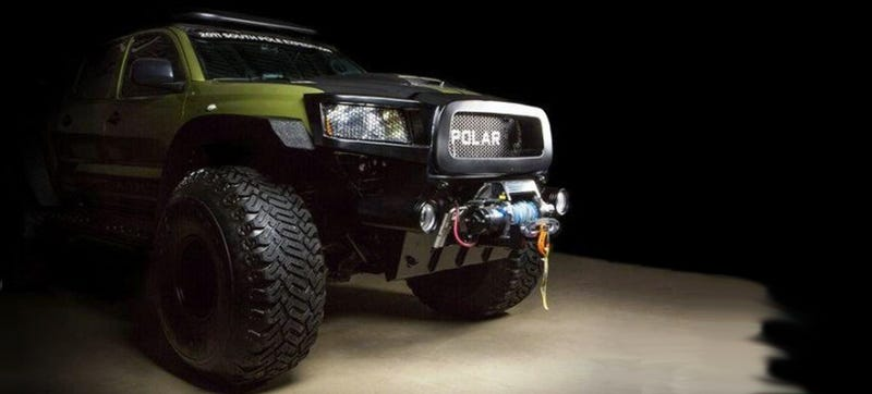 This Arctic Tacoma Could Be Cooler Than Top Gear's, And You Can Buy It