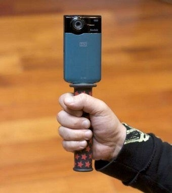 Turn a Bike Handle into a Camera Grip for Better Small Camera Handling