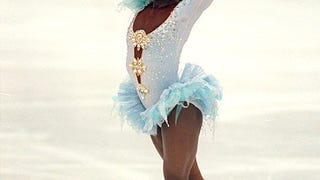 Surya Bonaly is the biggest bad ass in Winter Olympics History