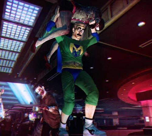 Dead Rising 2's Dark Comedy and Interactive Vomit
