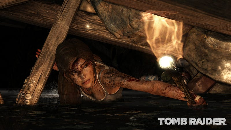 Tomb Raider's E3 Screens Are Beating This Poor Woman to Death