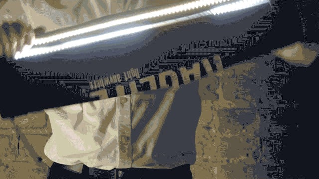 Flexible LED Studio Lighting That Can Be Rolled Up Like a Blanket