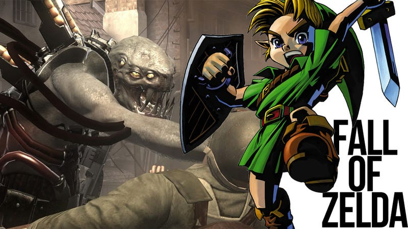 Unlikely Fan Fiction Crossover Battle: Link Encounters Resistance