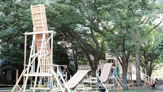 MIT Students Build Handmade Wooden Roller Coaster For Incoming Freshmen