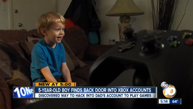 Five-Year-Old Boy Exposes Xbox Security Flaw