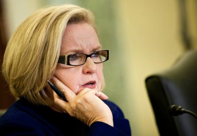 Senator Says She Feels Fat