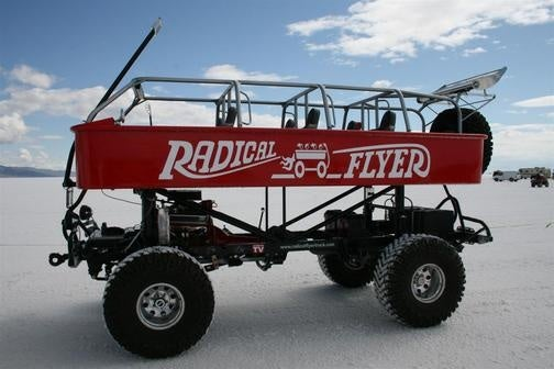 The Biggest Little Red Wagon You'll Ever See