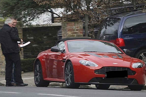 Daniel Craig Got A 2013 Aston Martin V12 Vantage Roadster for His Birthday