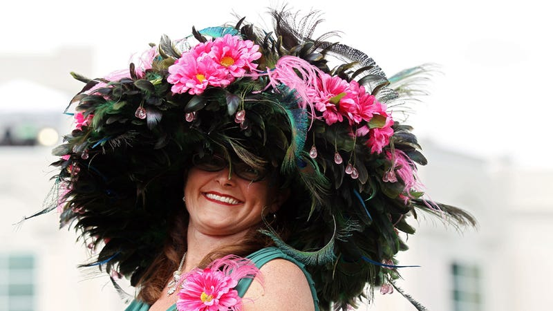 This Is the Best Hat Anyone Wore to the Kentucky Derby Yesterday