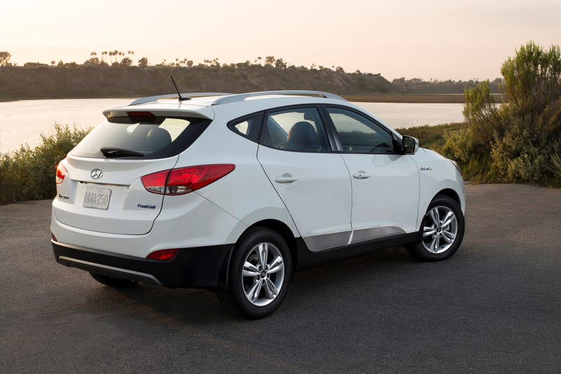 Californians Can Lease A Fuel Cell Hyundai Tucson With Free Refills