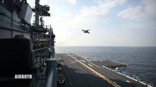 Why Is An F/A-18D Making An Approach On An Amphibious Landing Dock?